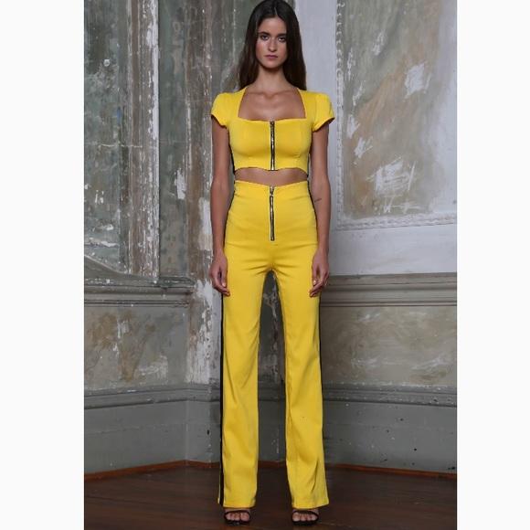 ce6d69e299d I.AM.GIA Uma Pant Yellow